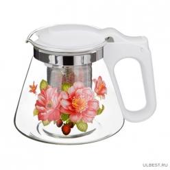 Чайник заварочный с жестким фильтром из нжс, 700мл (10130210/070417/0011568/1, китай) 885-051