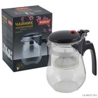 Чайник заварочный с кнопкой серия Gung Fu, литраж - 500 мл, тм Mallony арт.004532