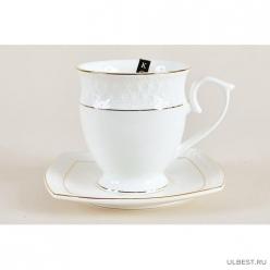 Пара чайная высокая 340мл ф.круг. СS554409-A снежная королева /з