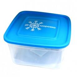 Контейнер для замораживания продуктов МОРОЗКО 1.0л квадратный С67006 Полимербыт
