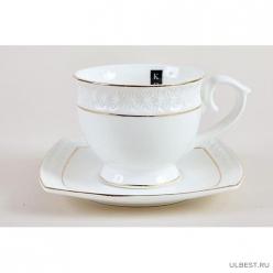 Пара чайная 280мл ф.круг CS506710-A снежная королева /з