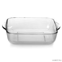 Посуда для СВЧ лоток квадратный б/крышки 280*280 мм 3 л арт.59024