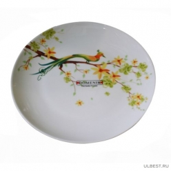 Тарелка десертная PARADISE BIRD 19см арт.DM9002