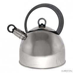 Чайник из нерж. стали DJA-3026 (2,2 литра, со свистком, капсульное дно) арт.900056