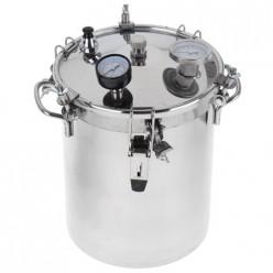 Автоклав-стерилизатор Консерватор, 14л,нерж. манометр, термометр клапан сброса изб. давления