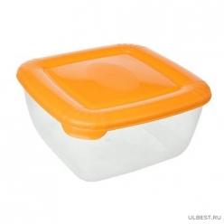 """Емкость для хранения пищевых продуктов POLAR квадратная 1,5л (PT1676) """"ПЛАСТ-ТИМ"""""""