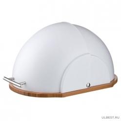 Хлебница деревянная с пластиковой крышкой 36*26*20 см. 938-010