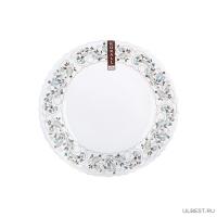 Тарелка плоская 24см, сканди LHP95-170604
