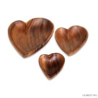 Салатница С любовью 12,5х10х4 см арт.WD-39934