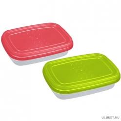 """Емкость для хранения пищевых продуктов PATTERN FLEX прямоугольная 0,3л (PT1130) """"ПЛАСТ-ТИМ"""""""