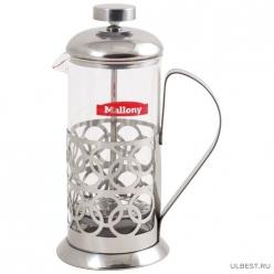 "Чайник/кофейник (кофе-пресс) ""Олимпия"" (Olimpia)Т046-350ML (сталь) (аналог 950090) 950100"