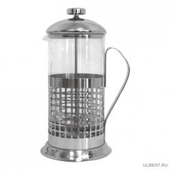 Чайник/кофейник (кофе-пресс) Клетка(Cellula) B511-350ML (сталь) 950003 аналог 950139