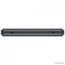 Магнитный держатель для ножей МКH-38Р, длина 38 см, ширина 4,8см материал: пластик 985452