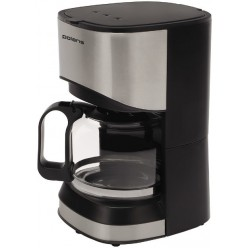 Капельная кофеварка Polaris PCM 0613A Silver black