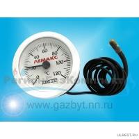 """Термометр """"ИМИТ"""" d-52mm (0-120*C) L-1000mm (круглый)"""