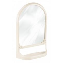 Зеркало с полкой св.бежевый М4516