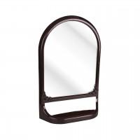 Зеркало с полкой темно-коричневый М4517