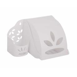 Держатель д/туалетной бумаги и освежителя воздуха М6052