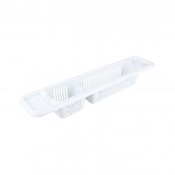 Полка для ванны белый М5632