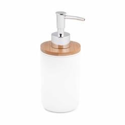 Дозатор для жидкого мыла Бамбук белый М8058