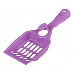 Совок для кошачьего туалета Феликс фиолетовый М6976