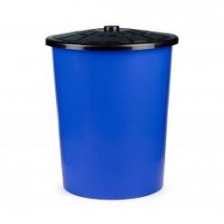 Бак универсальный 100л с крышкой синий М3468