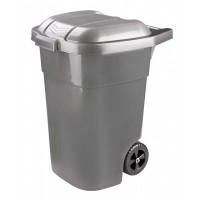 Бак для мусора Эконом 65л на колесах М7235