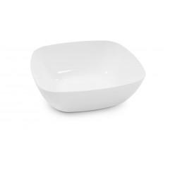 Тарелка Квадро глубокая белый М8040