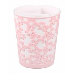 Подставка под столовые приборы Бархат розовый М7263