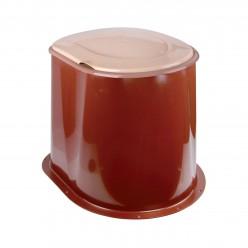 Туалет дачный коричневый М1295