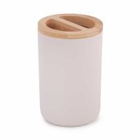 Подставка для зубных щеток Бамбук бежевый М8056