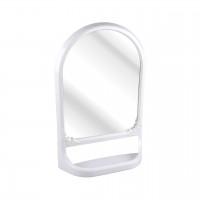 Зеркало с полкой белый М3130