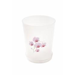 Горшок цветочный д/орхидеи Декор 3,5л прозрачный М1606