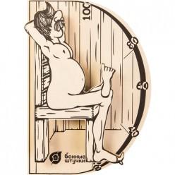 Термометр В здоровом теле-здоровый дух 19,8х13,4х3,3 см для бани и сауны / 5 18003