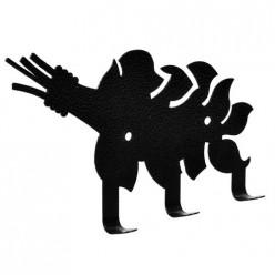 Вешалка металлическая 3 крючка Веник15,5*8 см Банные штучки /25 32491