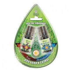 Набор эфирных масел кедр и можжевельник в блистере в форме капля/ 20 32370