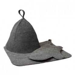 Набор из 3-х предметов (шапка, рукавица, коврик) Hot Pot, 41184