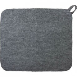 Коврик для сауны серый Нot Pot 41182