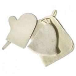 Набор из трех предметов (Шапка, коврик, рукавица) Hot Pot, войлок 100% 42013