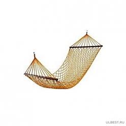 Гамак плетеный Nham-02 (нейлон) 200 х 100 см (081580)