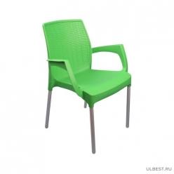 Кресло Прованс (зелёный) (уп.3) М6323