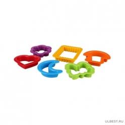 Набор детских формочек для песка (6шт) (уп.18) М5626