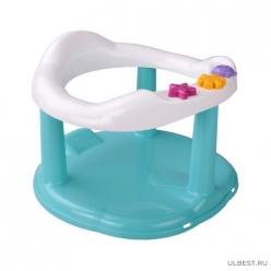 Сиденье детское для купания (бирюзовый)(уп.8) М6069