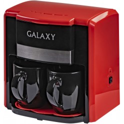 Капельная кофеварка Galaxy GL 0708 Red