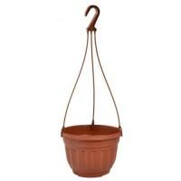 Горшок цветочный подвесной 3,75л Мульти-Пласт 2000