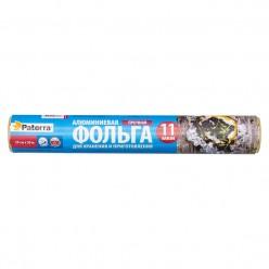 Пищевая фольга Paterra прочная, 29 см, 50 м, рулон в пленке 209-016