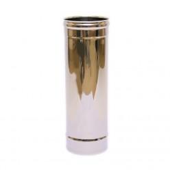 Дымоход одностенный Ferrum 0,5м (430/0,5 мм) 80