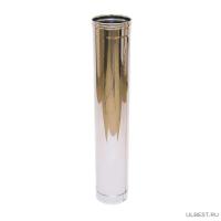 Дымоход одностенный Ferrum 1,0м (430/0,5 мм) 115