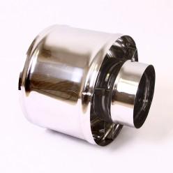 Зонт-Д с ветрозащитой Ferrum (430/0,5 мм) 115