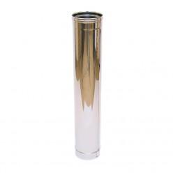Дымоход одностенный Ferrum 1,0м (430/0,5 мм) 80